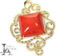 赤珊瑚 ダイヤモンド ペンダントトップ