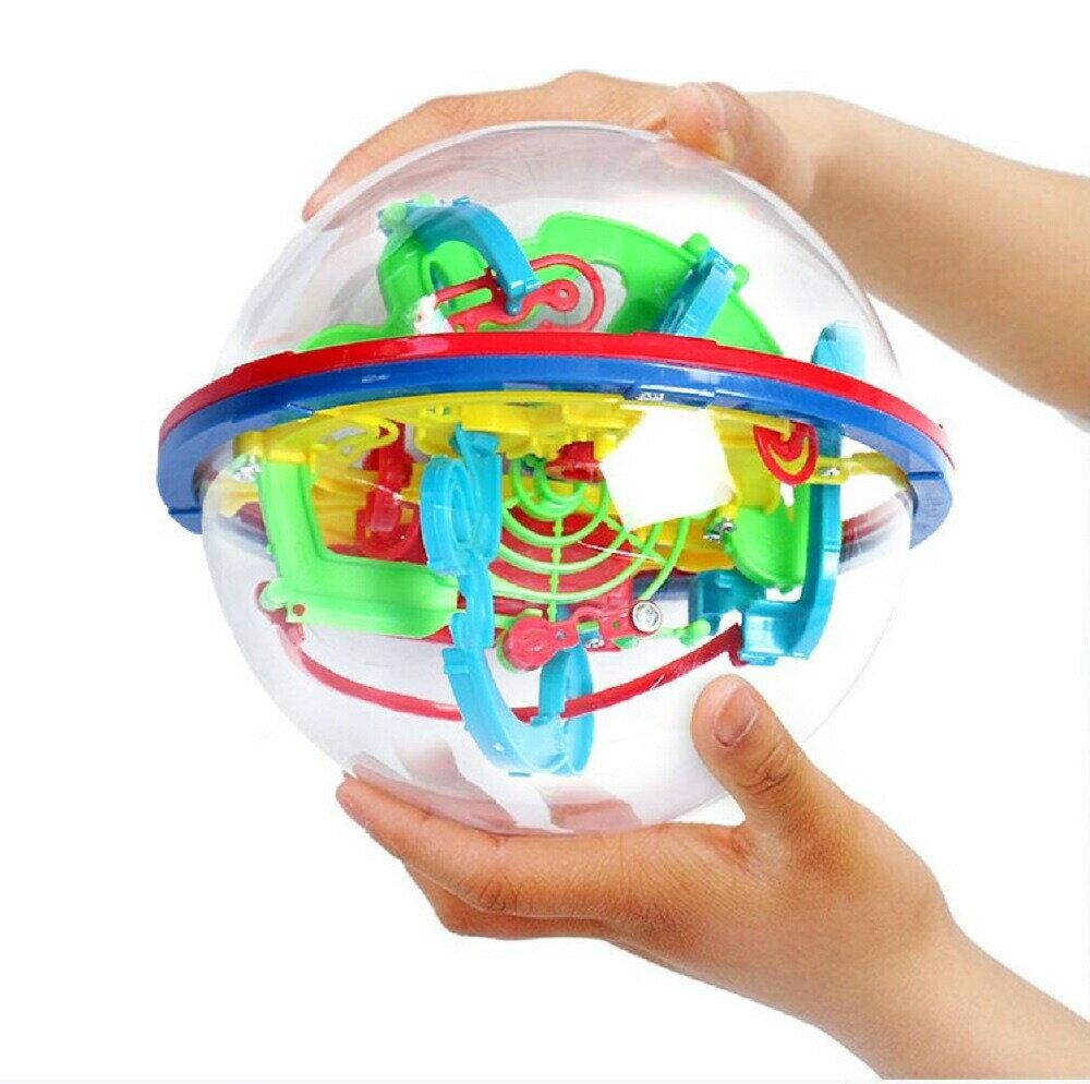 玩具立体パズルマジカル迷路ボールインテレクトボール3D雑貨知育玩具知的チャレンジゲーム教育ゲーム知育