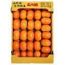 庄内柿(しょうないがき) 種なし柿 山形県産 約5kg×1箱 (29〜36玉入り) 送料無料