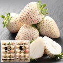 白い苺(いちご) パールホワイト 奈良県産 230g 2パック詰め 送料無料 ランキングお取り寄せ