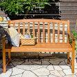 【送料無料】 ベンチ 木製 ガーデンベンチ チェア 屋外 ベランダ シンプル ガーデニング テラス 庭 椅子 チェアー おしゃれ 天然木 北欧 ナチュラルデザインベンチ Tanner(タナー) ブラウン