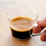 浓缩咖啡茶杯 90ml 咖啡杯 玻璃制餐具玻璃杯 茶杯 KINTO kintoesupuressokappu 90ml 咖啡杯 玻璃制餐具玻璃杯 茶杯 KINT[エスプレッソカップ 90ml コーヒーカップ ガラス製食器 コップ カップ KINTO キントーエスプレ