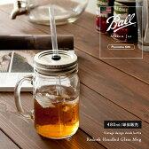 保存ビン ジョッキ メイソンジャー Ball Mason Jar レッドネック マグ 16oz ガラス ドリンクディスペンサー 密封ビン おしゃれ ヴィンテージ ビンテージ ビン 瓶 ボトル