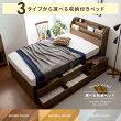 選べる収納ベッド ヘッドレスタイプ セミシングルサイズ フレーム単体販売