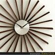 【送料無料】 掛け時計 壁掛け時計 時計 おしゃれ 掛時計 クロック ウォールクロック ジョージネルソン George Nelson 北欧 レトロ ミッドセンチュリー シンプル Flutter Clock 〔フラッタークロック〕