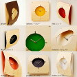 掛け時計 壁掛け時計 おしゃれ 掛時計 壁掛け インテリア 時計 北欧 ナチュラル 木製 シンプル かわいい ヤマト工芸 曲げ木ウォールクロック ナチュラル イエロー レッド ホワイト ブラック オレンジ グリーン パープル ブラウン