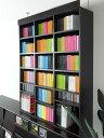シェルフ、本棚、書棚、ラック【送料無料】実用的でセンスあるデザインMonheit 突っ張り上置きラック ブラウン