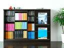スライドシェルフ、本棚、書棚、スライドラック【送料無料】シンプルモダンデザインスライドシェルフ Monheit Slide Shelf〔モンハイト スライドシェルフ〕 ブラウン
