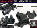 【Trijicon ACOGタイプレプリカ】TA01 NSN 4X32スコープ (リアルサイズモデル)