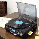 クラッシックサウンドプレイヤー ブラック DEAR LIFE RTC-01 RTC-01 RTC-01 レコード カセットテープ 録音・再生 AM/FMラジオ