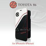 TOYOTA �ȥ西 �� iPhone6s iPhone6 (4.7inch) ���� ��Ģ�������� �ܳ� �����ܥ�Ĵ ���С� �֥å������� �����ɥۥ������ �� ���ä����� �������� TOYOTA86 �ȥ西86 �ϥ��? 86 �ۥ磻�� ������̵���ۡڤ������б���