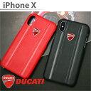 DUCATI 公式ライセンス品 iPhoneXケース ハード...