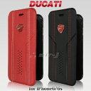 DUCATI 公式ライセンス品 iPhone6 iPhone6s レザー調 手帳型 ケース ドゥカティ ブックタイプ アイフォン6 アイフォン6s カードホルダー付き