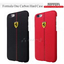 iPhone6s iPhone6 ケース カーボン 調 ハード フェラーリ ・ 公式 ライセンス品 [Formula One Carbon Hard Case for iPhone6] FEFOCHCP6 フォーミュラ ワン フェラーリ アイフォン6s アイフォン6 4.7inch