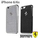 フェラーリ・公式ライセンス品 iPhone6 6s ハードケース リアル カーボン アイフォン6 ケ ...