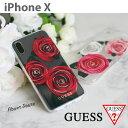 GUESS(ゲス)・公式ライセンス品 iPhoneXケース ...