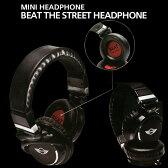 ミニ公式ライセンス品 ヘッドフォン [MINI BEAT THE STREET HEADPHONE] MNHP104BL (ミニクーパー/iPhone/スマホ/ヘッドホン/イヤホン/ステレオ/ミニプラグ)【あす楽対応】【送料無料】