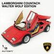 ランボルギーニ カウンタック 1/18 スケール ミニカー スーパーカー オートアート デザイン シリアル 番号付き 74651