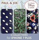 iphone7 Plus ケース 手帳 手帳型(ブックタイプ)5.5 inch PAUL & JOE(ポール アンド ジョー )・公式ライセンス品 ボタニカル フラワー ポピー 蝶 フェミニン 女性 コスメ かわいい 女性向け ギフト 【PJI7LBOOK_FAU】アイフォン7プラス