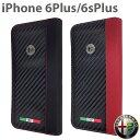 【SALE】アルファロメオ 公式ライセンス品 iPhone6sPlus 6Plus 手帳型 スリーブケース ICカードホルダー付 アイフォン6s プラス アイフォン6 プラス Galaxy S6 SC-04G SCV31 SC-05G Xperia Z3 SO-01G SOL26 ケース メンズ ブランド シンプル【あす楽】送料無料