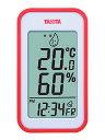 タニタ デジタル温湿度計 TT-559 オレンジ