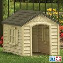 【犬小屋 屋外/ドッグハウス】中型犬用ドッグハウス【中型犬/送料無料(沖縄・離島は送料別)/代金引換不可】