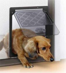 ペット用品PD3035(小型犬用)網戸専用犬猫出入り口Mサイズペット用出入り口網戸専用ドア1万円以上