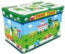 遊べるストレージボックス ドライブタウン (子供用 おもちゃ 収納ボックス)【遊べる!座れる!収納ボックス】