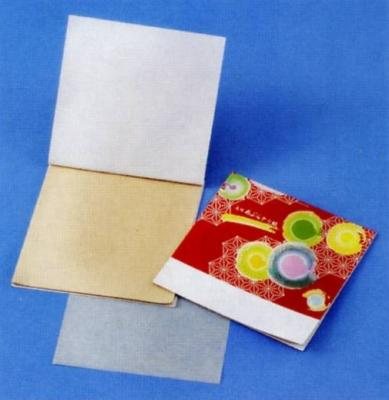 あぶらとり紙 祭り N 10枚入 茶紙 【ご注文単位 2000個】