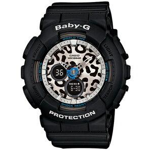 ■CASIO[カシオ] BABY-G【Leopard Series[レオパードシリーズ]】ブラック BA-120LP-1AJF【_包装選択】【05P03Sep16】 ※20%オフ