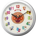 ■リズム時計正規品[RHYTHM]【アンパンマン】掛時計集合 4KG713-M19【楽ギフ_包装選択】