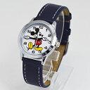 ■フィールドワーク【ディズニー ミッキーマウス】腕時計 ウォッチ 手針 ネイビー MKN005-3【楽ギフ_包装選択】