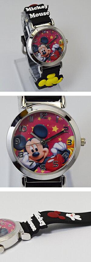 ■ディズニー・ウォッチ【ミッキーマウス】キッズ...の紹介画像2