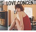 ショッピングhitomi 【オリコン加盟店】■送料無料■hitomi CD【LOVE CONCENT】 通常盤 06/9/27【楽ギフ_包装選択】