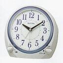 7月発売予定■リズム時計 クオーツ 目覚まし時計【デュアルサウンド R648】8RA648SR03 [後払不可]【楽ギフ_包装選択】.