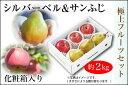 シルバーベル&サンふじセット 約2kg 化粧箱入(08-O