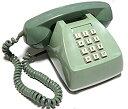 【中古】【輸入品日本向け】電電公社 600-P プッシュ式電話機 (プッシュホン) (ライトグリーン)