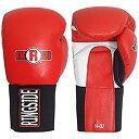 【中古】【輸入品・未使用】(530mls Red) - Ringside Boxing Kickboxing Muay Thai Training Punching Bag Mitts IMF Tech Hook & Loop Sparring Gloves