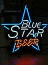 【中古】【輸入品・未使用】Blue Star ビールバー パブ ストア パーティー 部屋 壁 窓 装飾 ネオンサイン