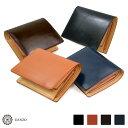 メンズ GANZO ガンゾ 2つ折り財布 折財布 ブライドル THIN BRIDLE シンブライドル 大型2つ折り財布