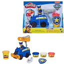 【Paw patrol】 パウパトロール チェイス Play-Doh プレイドー フィギュアと小麦粘土4色のセット Rescue Rolling Chase チェイス/型押し/ポリスカー/ねんど