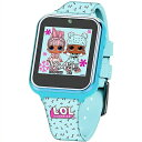 【L.O.L Surprise / L.O.L サプライズ】キッズ スマートウォッチ ブルー タッチスクリーン LOL4299 Interactive Kids Smartwatch /おもちゃ/時計/カメラ/自撮り/セルフィー/女の子用/プレゼント/lolサプライズ