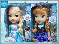 【Disney】ディズニー【FROZEN】アナと雪の女王アナ/エルサトドラードールアクセサリーセットアナ雪/お人形/ドール/着せ替え人形/フィギュア/おもちゃ/女の子用/ドレス/クリスマスプレゼント
