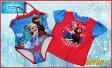 【送料無料】【Disney ディズニー】アナと雪の女王 水着セット 水着+ラッシュガード 2着セット UPF50+ アナ・エルサアナ雪/女の子用/ガールズ/子供用/キッズ/水泳/プール/海水浴/