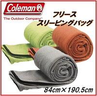 【Colemanコールマン】フリーススリーピングバッグフリース寝袋10℃以上約190.5×84cm毛布ブランケットインナーにも寝袋/ひざ掛け/ねぶくろ
