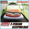【コールマン寝袋】 coleman コールマン Coleman 2人用 寝袋 ダブルサイズ ●-13℃まで対応 /シュラフ/ ツーパーソン /スリーピングバッグ /キャンプ/アウトドア/登山/テント/釣り/