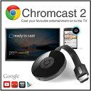 【google chromecast2】グーグル クロムキャスト2ストリーミング/音楽/動画/映像/アプリ/HDMI/クロームキャストAndroid/スマホ/タブレット/ミラーリング