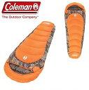 【 Coleman 】 コールマン 寝袋 リアルツリー マミー型 シュラフ 寒冷地仕様 カモマミ