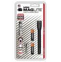 【MAGLITE】 ミニマグライト MINI ミニ LED フラッシュライト ブラック 明るさ100ルーメン 2AAA 単四電池×2本使用 マグライト MINI LED..