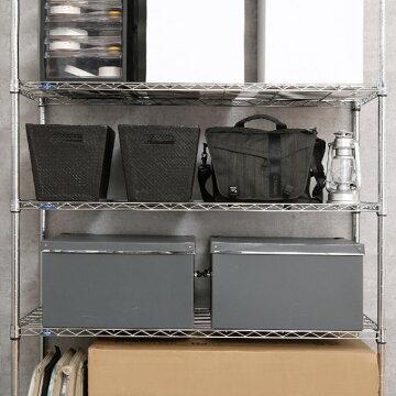 幅1205段つっぱりラック突っ張りラック壁面収納突っ張りラックメタルラックランキング常連ルミナスルミナススリム奥行45高さ220〜250MH1218-5T